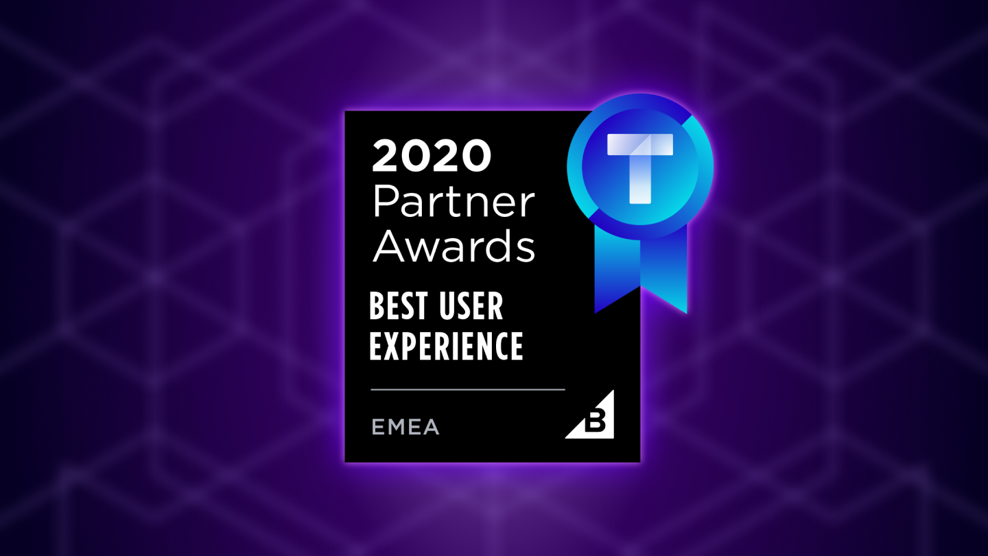 Visual of the Best User Experience BigCommerce Partner Award